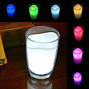 Glowing Milk Cup Design 7 Colors Changing Night Light Home Decoration (3xAAA)