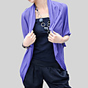 Half-Sleeve Cotton Office & Career Evening Jackets/ Wraps Bolero Shrug