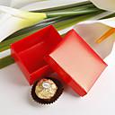 bella scatola di favore rosso (set di 12)