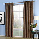 Blackout Thermal Embossed Pray Curtain (Two Panels)