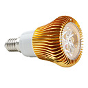 E14 5W 3 High Power LED 420 LM Natural White PAR38 LED Spotlight AC 85-265 V