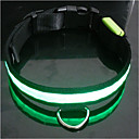 9Protecollar - Adjustable Nylon Night Safety LED Light Dog Collar (Assorted Colors)