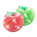 Puzzle 3d mela di cristallo con flash
