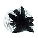 Gorgeous Feather Wedding Bridal/ Patry Headpiece Black