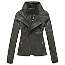 Long Sleeve Office/Party Lambskin Leather Jacket