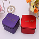 24 Piece/Set Favor Holder - Cuboid Metal Favor Tins and Pails/Favor Boxes Personalized