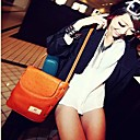 VINTAGE Pure Color Dual-use  Crossbody Bag(24.5cm*9cm*25cm)