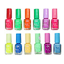 Navidad Candy Color noctilucentes Nail Art polaco (7 ml, 12PCS)