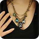 femmes collier de perle millésime