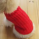 Súeters - Inverno - Vermelho - Mantenha Quente - de Algodão - para Cães / Gatos