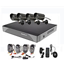 8 kanaals Surveillance Security System 4 Buiten Warterproof Camera Night Vision