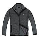 Langzuyoudang Men's Outdoor Fleece jas met ventilatie voor Klimmen