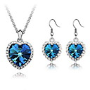 Women's Alloy Jewelry Set Crystal/Rhinestone