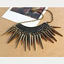 kvinnors nit Vintage tofsar halsband