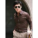 Men's Long Sleeve Shirt Casual Pure