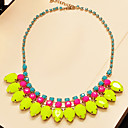 Women's Special Eye-catching Color Short Necklace