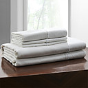 Simple&Opulence® Sheet Set, 100% Linen Solid White Up to 15