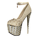 Sparkling Glitter Niitti Stiletto Heel Closed Toe kanssa Platform Pumps Party / juhlakengät