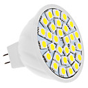 GU5.3(MR16) 5W 30 SMD 5050 420 LM Natural White MR16 LED Spotlight DC 12 V