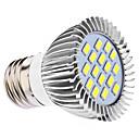 daiwl e27 5w 16x5630smd 400-450lm 6000-6500k natural de luz LED Spot lâmpada (110 / 220V)