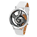 Women's Watch Fashion Hollow Musical Note Style Dial