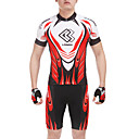 CM1301/TM1301 umidade wicking Suits Ciclismo com Silicone Pad (Red + Balck)