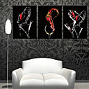 Stretched Canvas Art Still Life Three Wine Glasses Set of 3
