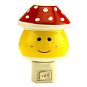 Red Dots Mashroom LED Night Light(110V-240V)