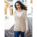 TS Holes Design Trendy See Through Cardigan (More Colors)