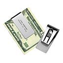 gift groomsman uitgeholde roestvrij staal geld clip