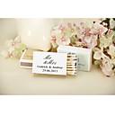décoration de mariage cartons d'allumettes personnalisés - Mr et Mme-ensemble de 12 (plus de couleurs)