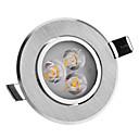 4W 3 High Power LED 240 LM Warm White LED Ceiling Lights AC 220-240 V