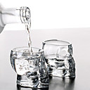 Mini Crystal Skull Head Cup Vodka Shot Glass Whiskey Drink Ware for Home Bar