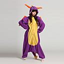 Fierce Dragon Purple Polar Fleece Adult Kigurumi Pajama