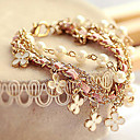 Women's Charm Bracelet Alloy Imitation Pearl