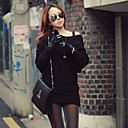 Women's Cape Sleeve Slim Fit Knit Mini Dress