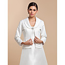 Wedding / Party/Evening / Casual Satin Coats/Jackets 3/4-Length Sleeve Wedding  Wraps