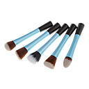 5in1 Nylon Powder Brush(Blue)