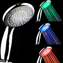3-Color Temperature Sensitive LED Color Changing Hand Shower