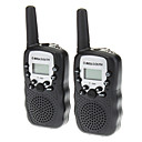T388 2PCS/Pair Containing Two Walkie Talkies Black