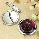 Personalized Gift Lover Pattern Chrome Compact Mirror