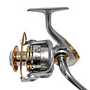 GF7000 Type Silver And Gold Color Fishing Baircasting Reel