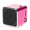 Speaker digitale con SD, TF, USB, FM supportata (rosa, blu)