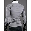 Men's Handsome Slim Long Sleeve Shirt