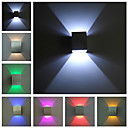Flush Mount appliques murales-Moderne/Contemporain-LED / Ampoule incluse-Métal
