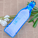 350ml Outdoor Portable Plastic Water Drinking Bowl for Pets Dogs(Assorted Color)