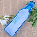 350 ml udendørs bærbare plast vand drikkekop til kæledyr (assorteret farve)
