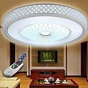 Contemporary Concise  LED Flush Mount Light Aluminum Acrylic Painting