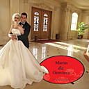 Wedding Décor Personalized Rose  Dance Floor Decal (More Colors)