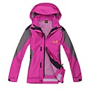 JACK WOLFSKIN Women's Waterproof Jacket Detachable Cap Keep Warm Windproof Waterproof
